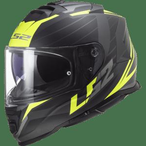 Casco LS2 FF800 Storm Nerve Matt Black H-V Yellow (Talla M)